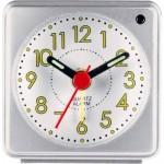 Ceas cuart cu alarma Constant, Argintiu