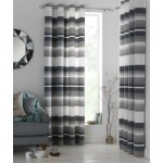 Set 2 draperii Heart of House Lincoln Grey, 116 x 137cm/buc.
