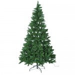 Brad de Craciun artificial Green Pre-lit, 213 cm