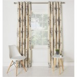 Draperie Collection Aimee Floral Natural, 168 x 228cm