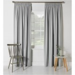 Set 2 draperii ColourMatch Blackout Thermal Dove Grey, 117x137cm/buc.