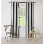 Set 2 draperii ColourMatch Blackout Thermal Dove Grey, 168x183cm/buc.