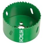 Carota HSS Bimetal Hitachi 752135, cu filet, 68x38 mm, lemn, metal, material plastic