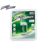 Acumulator ACTIV ENERGY Plus+, 250 mAh, 9V