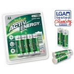 Set 4 Acumulatori ACTIV ENERGY Plus+, 2500 mAh, AA