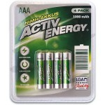 Set 4 Acumulatori ACTIV ENERGY Plus+, 1000 mAh, AAA