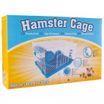 Cusca Hamster Cage Blue