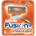 Rezerve Gillette Fusion Power, 8 buc