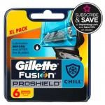 Rezerve Gillette Fusion ProShield, 6 buc