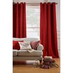 Set 2 Draperii Heart of House Hudson Cranberry 228x228cm/buc.
