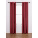 Set 2 Draperii Heart of House Hudson Cranberry 168x183cm/buc.