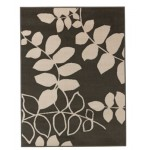 Covor HOME Amble Leaf Grey 160x120cm