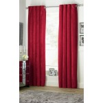 Set 2 Draperii Heart of House Abberley Cranberry 229x229cm/buc.