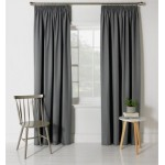 Set 2 Draperii ColourMatch Blackout Flint Grey 168x183cm/buc.