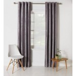 Set 2 Draperii Heart of House Abberley Blackout Grey 229x229cm/buc.