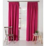 Set 2 Draperii ColourMatch Blackout Thermal Fuchsia 168x183cm/buc.