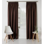 Set 2 Draperii ColourMatch Blackout Thermal Chocolate, 117x137cm/buc.