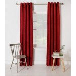 Set 2 Draperii Heart of House Abberley Cranberry 167x182cm/buc.