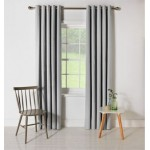 Set 2 Draperii ColourMatch Blackout Thermal Dove Grey 229x229cm/buc.