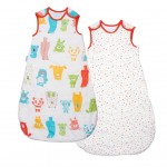 Saculeti De Dormit Grobag Wash & Wear Twin Pack Spotty (6-18 luni)