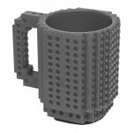 "Cana ThinkGeek ""Build on Brick Mug"", gri"