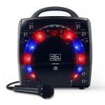 Sistem Karaoke SML-283 Portable CD-G Karaoke Player and 3 CDGs Party Pack Black