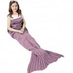 Patura pentru copii Coada de Sirena, Violet