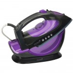 Fier de calcat fara fir Esy Steam 2 in 1, 2200W, Purple