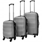 Set 3 Trolere ABS Silver