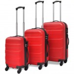 Set 3 Trolere ABS Red