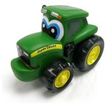 John Deere, Tractor Johnny - apasa si merge - Tomy