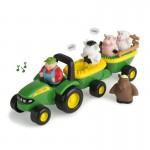 Tractor si animale John Deere cu sunete - TOMY