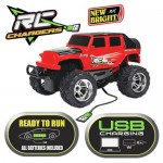 Masina Radio Control New Bright RC Charger Jeep 1:18