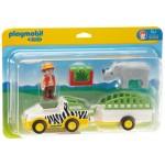 1.2.3. Camion de safari cu rinocer