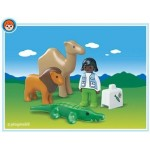 1.2.3. Veterinar la Zoo PLAYMOBIL