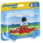 1.2.3. Copil cu barca PLAYMOBIL
