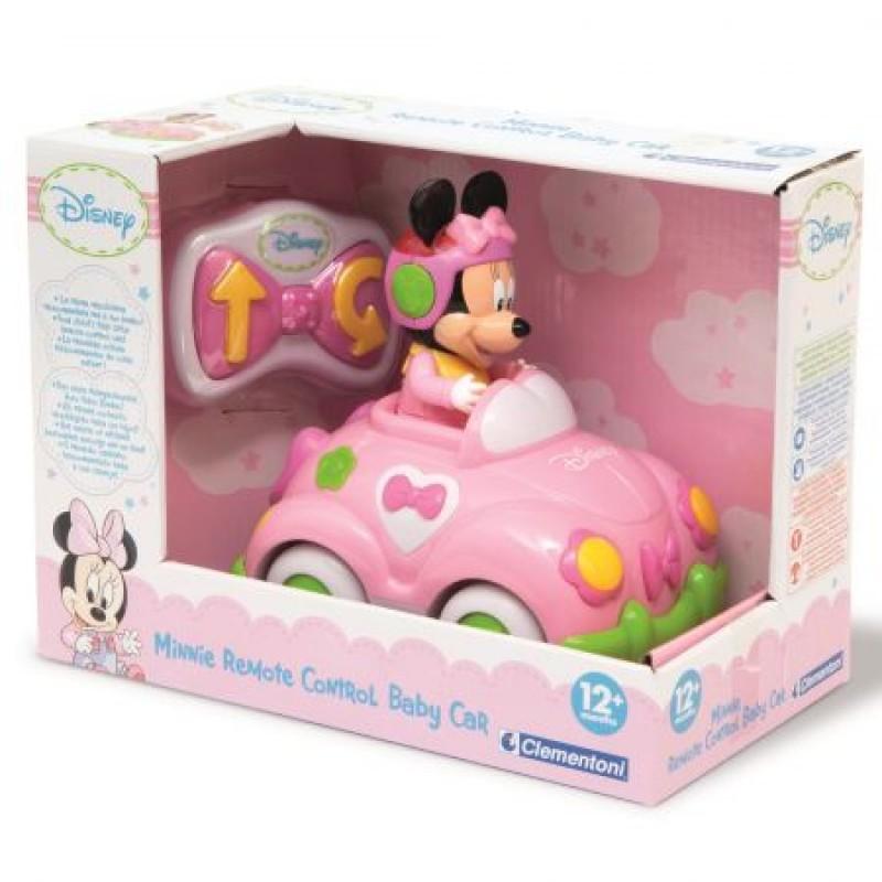 74b4e689662e9 Jucarie interactiva Baby Clementoni Masinuta cu telecomanda Minnie Mouse