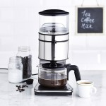 Cafetiera Lakelang Gravity, 1.25L, 1800W