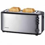 Prajitor de paine Severin AT2509, 4 felii, 1400 W, Inox