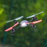 Drona Quadcopter cu LED