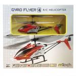 Elicopter Gyro Flyer V4 Rosu
