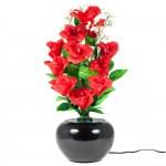 Lampa Trandafir cu fibra optica - RED 5