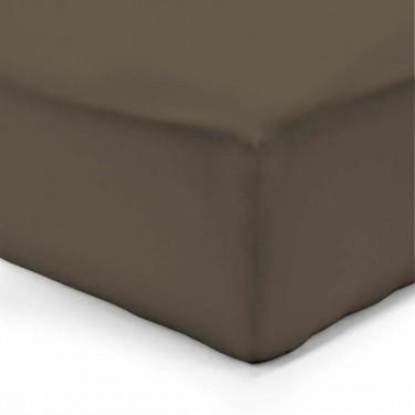 Husa saltea vision drap housse chocolat 200 x 200 cm - Drap housse matelas epais ...