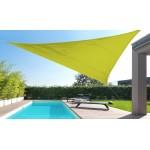 Parasolar Triunghiular Davis & Grant, 5 x 5 x 5 m, Verde