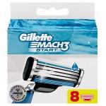 Set 8 Rezerve Gillette Mach 3 Start