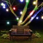 Set 10 Lampi Solare de gradina GloBrite Retro Bulb Multicolore
