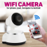 WiFi Smart IP Camera Net, lentila 3.6 mm, iPhone, Android