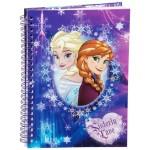 Caiet cu Spira Disney Frozen Sister Love