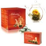 Ceainic Creano Abloom Tea cu 6 pliculete de Ceai, 500ml
