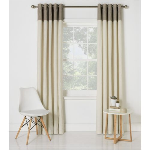 Set 2 Draperii HOME Dublin Unlined Natural  229x229cm/buc.